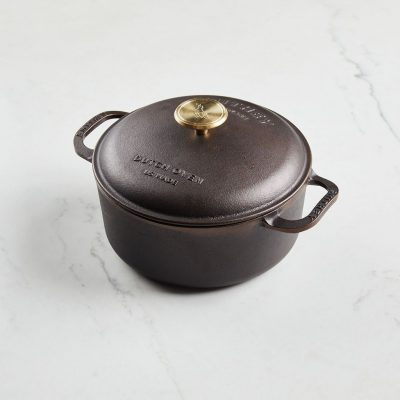 3.5 QT DUTCH OVEN - SMITHEY IRONWARE
