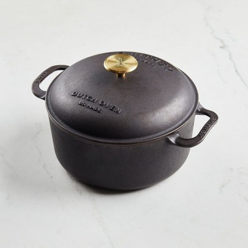 5.5 QT DUTCH OVEN - SMITHEY IRONWARE
